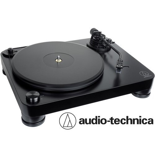 Audio-Technica AT-LP7 Fully Manual Belt-Drive Turntable 33-1/3 & 45 RPM HiFi Dual Magnet Design