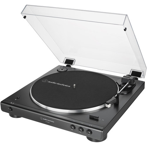 Audio-Technica AT-LP60XBT-BK Fully Automatic Bluetooth Stereo Belt-Drive Turntable