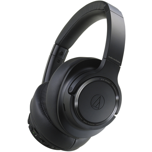 Audio Technica  ATH-SR50BT Wireless Bluetooth Over-Ear Headphones (Black)