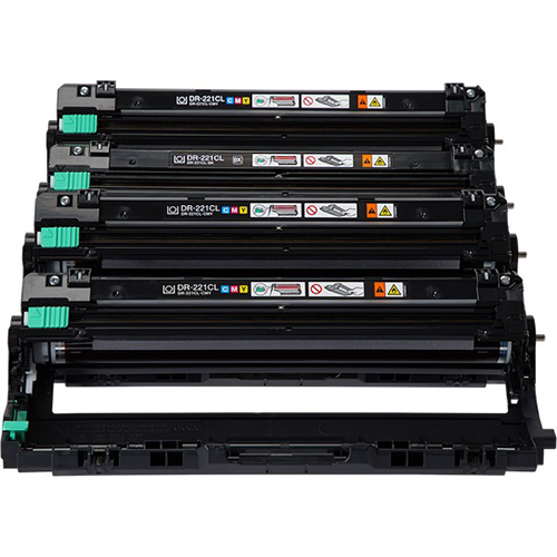 Brother DR221CL DRUM UNIT FOR FOR INKJET PRINTERS MFCS 4PACK