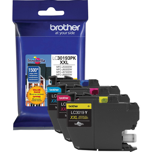 Brother XXL Color Ink 3 Pack