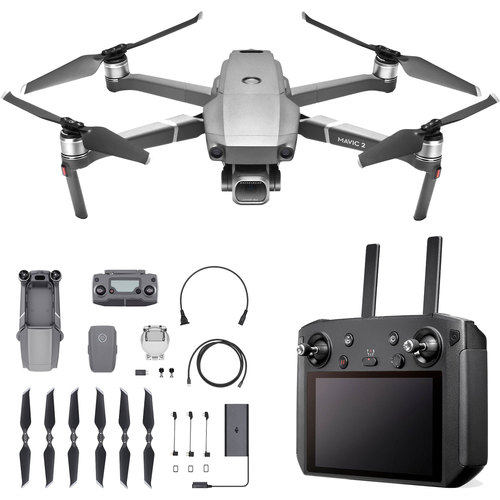 DJI Mavic 2 Pro Drone Quadcopter with Hasselblad Camera and Smart Controller