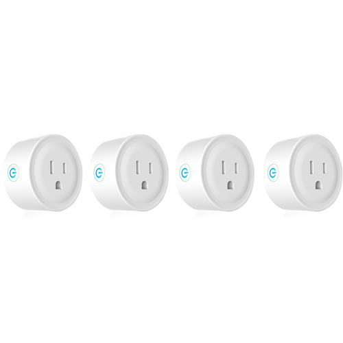 Deco Gear 4 Pack WiFi Smart Plug (Compatible with Amazon Alexa & Google Home)