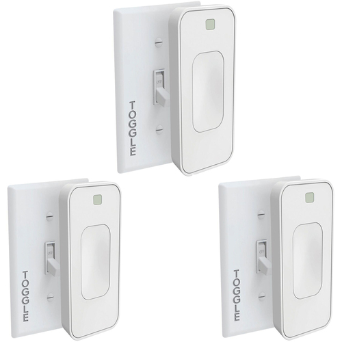 Switchmate Motion Activated Instant Smart Light Switch Toggle That Listens REFURB ( 3 PACK)
