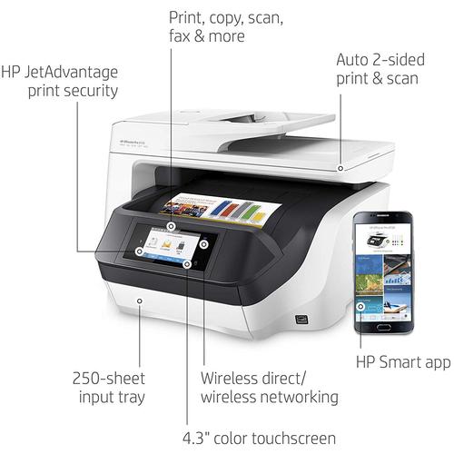 Hewlett Packard Officejet Pro 8720 Photo Wireless Inkjet All