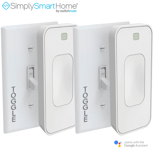 SimplySmartHome by Switchmate 2-Pack Motion Activated Instant Smart Light Switch Toggle - Refurbished