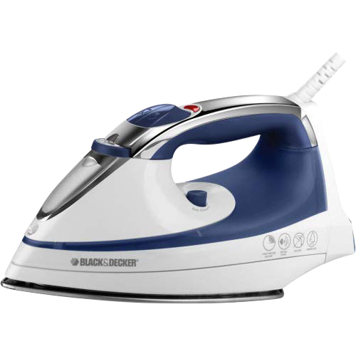Black & Decker BD Iron Blue Wht