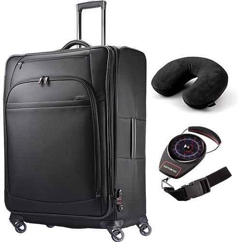 Samsonite PRO 4 DLX 29` Spinner Black + Scale and Pillow