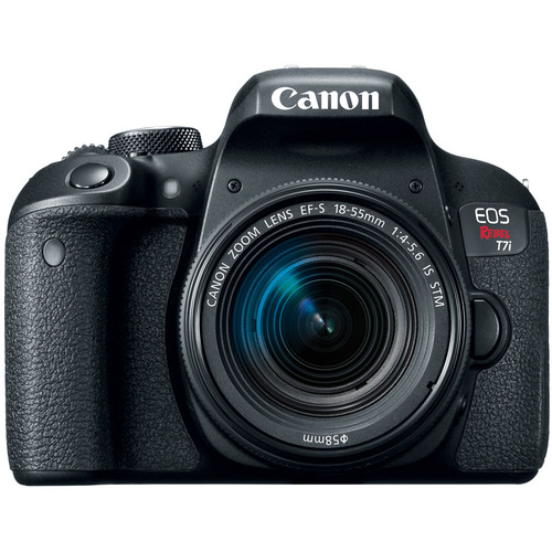 Canon EOS Rebel T7i Digital SLR Camera with EF-S 18-55mm IS STM Lens - Open Box
