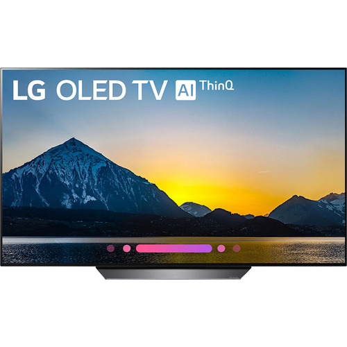 LG OLED65B8PUA 65` Class B8 OLED 4K HDR AI Smart TV (2018 Model) - Open Box