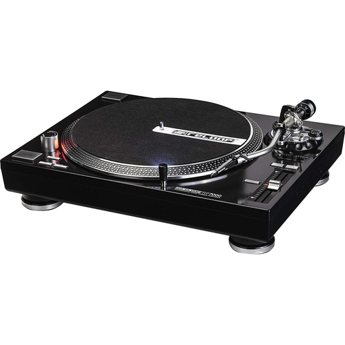 Reloop RP-7000 Quartz Driven DJ Turntable with Upper-Torque Direct Drive, Black