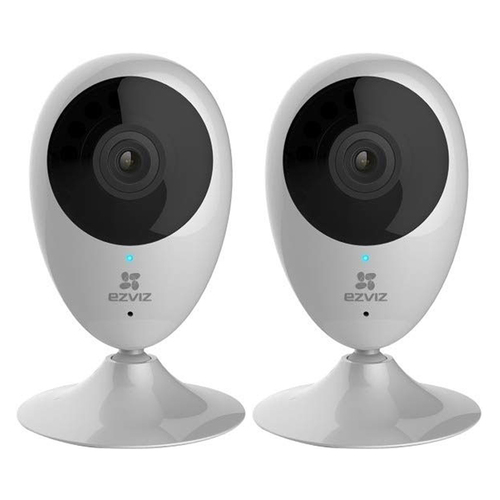 EZVIZ 720p WiFi Indoor Cloud Camera Pack of 2