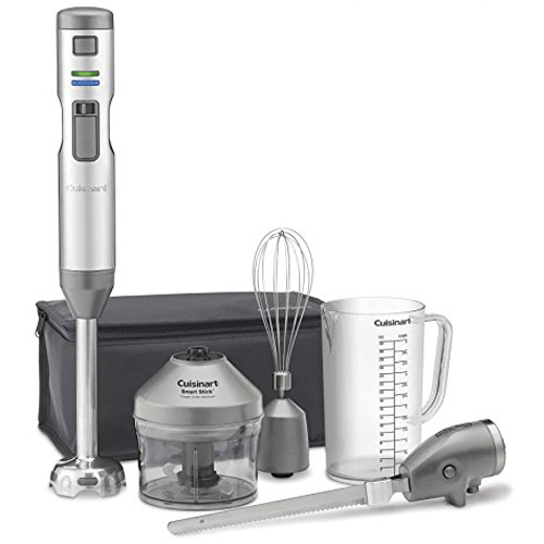 Cuisinart Smart Stick Variable Speed Cordless Hand Blender with Electric Knife CSB-300