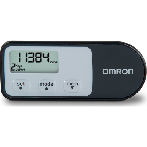 Omron HJ-321 Tri-Axis Optimized Pedometer - Black