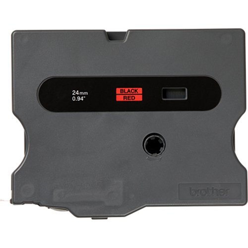 BROTHER INTL (LABELS) P-Touch - TX Tape Cartridge for PT-8000 PT-PC PT-30/35 1w Black on Red - TX4511