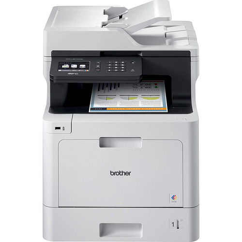 Brother Business Color Laser All-in-One Printer - MFC-L8610CDW