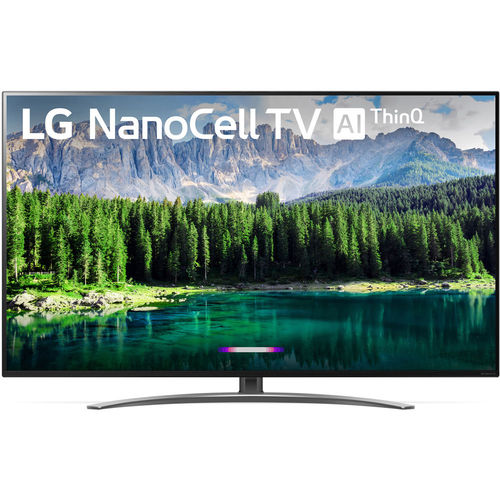 LG 49SM8600PUA 49` 4K HDR Smart LED NanoCell TV w/ AI ThinQ (2019 Model)