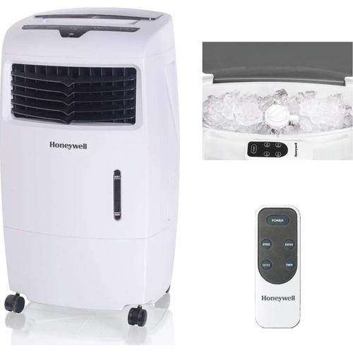 Honeywell Cl25ae 52 Pt Indoor Portable Evaporative Air Cooler With Remote Control White Buydig Com