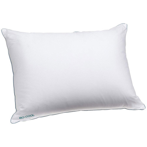 Isotonic Iso-Cool Traditional Polyester Pillow with Outlast Cover, Standard