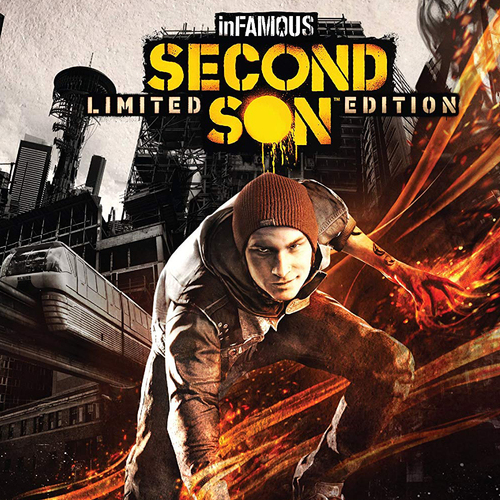 Sony infamous: Second Son Limited Edition PlayStation 4 - 3003547