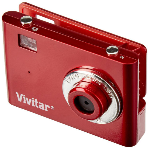 Vivitar 11698-RED-PR  VGA Digital 3 in 1 Camera - Red