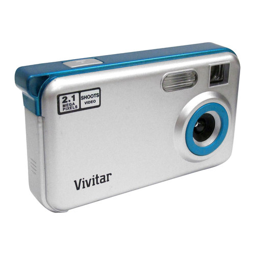 Vivitar V38-BLUBER-FM DIGITAL STILL CAMERA
