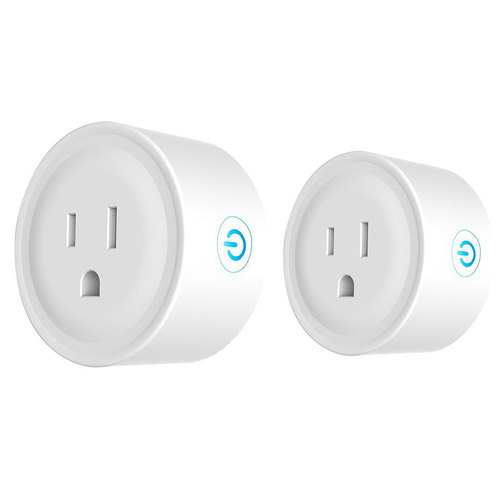 Deco Gear 2 Pack WiFi Smart Plug (Compatible with Amazon Alexa & Google Home)