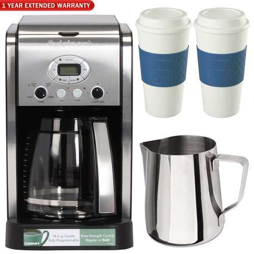 Cuisinart DCC-2600 Brew Central 14-Cup Coffeemaker Ultimate Coffee Bundle