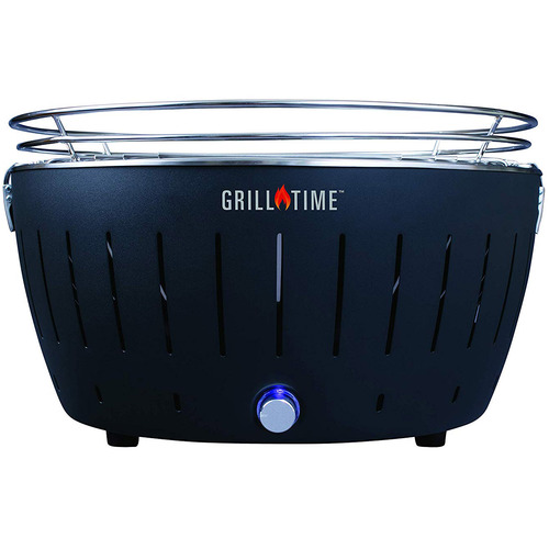 Lotus Grill Grill Time Tailgater GTX (XL) Starter Pack-Gray Grill, Charcoal & More UPG-G-18