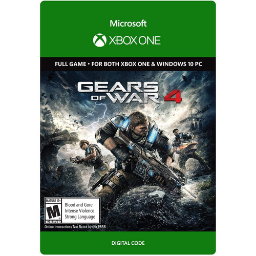 Microsoft Gears of War 4 Digital Download for Xbox One