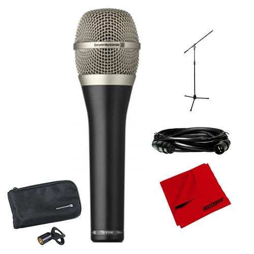 BeyerDynamic TG V50d Cardioid Dynamic Vocal Microphone + Microphone Stand Bundle