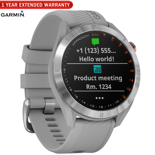 Garmin Approach S40 Golf Watch - (010-02140-00) with 1 Year Extended Warranty