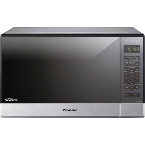 Panasonic 1.2 Cu. Ft. 1200 Watt Stainless Front & Silver Body 5 Tactile