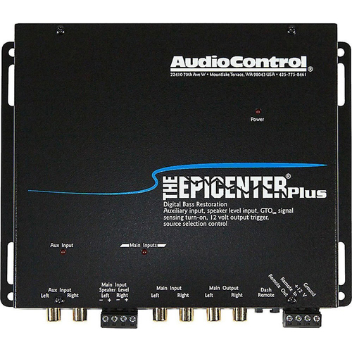 Audio Control The Epicenter Plus Black Bass Restoration Processor with OEM Interface