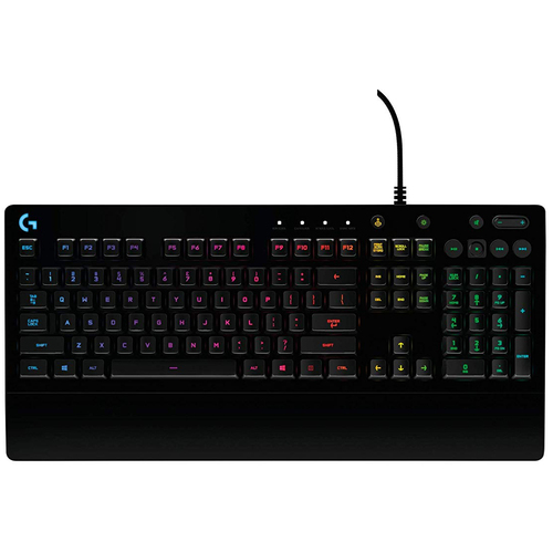 Logitech G213 Prodigy RGB Backlit, Spill-Resistant & Durable Gaming Keyboard 920-008083