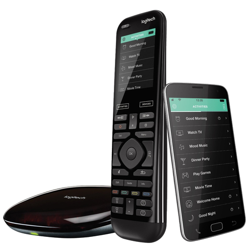 Logitech Harmony Elite Universal Remote with Harmony Hub, Works with Amazon Alexa