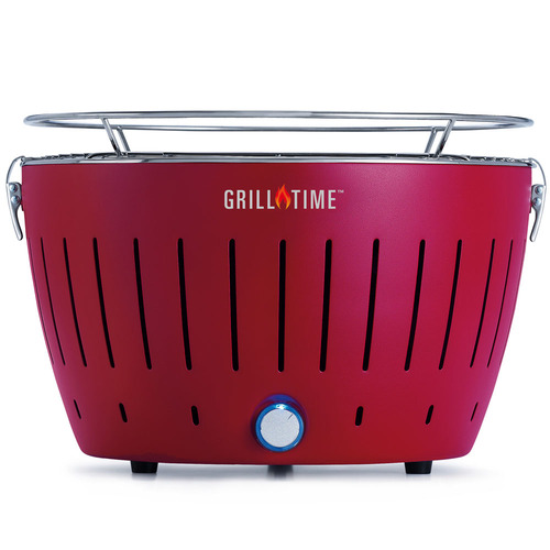 Lotus Grill Tailgater GT Portable Charcoal Grill - Red - (UPG-R-13)