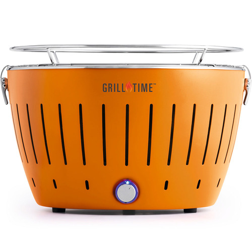 Lotus Grill Tailgater GT Portable Charcoal Grill - Orange - (UPG-O-13)