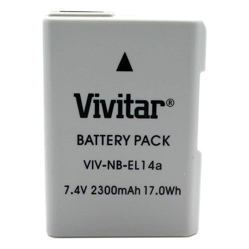 EN-EL14A Rechargeable Li-ion Battery for P7000,P7100,D3300,D5300