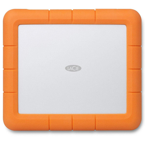 LaCie 8TB Rugged RAID Shuttle USB-C & USB 3.0 All-Terrain Encrypted Drive STHT8000800