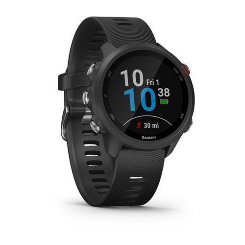 Garmin Forerunner 245 Music Sport Watch with Wrist-Based Heart Rate Monitor - Black
