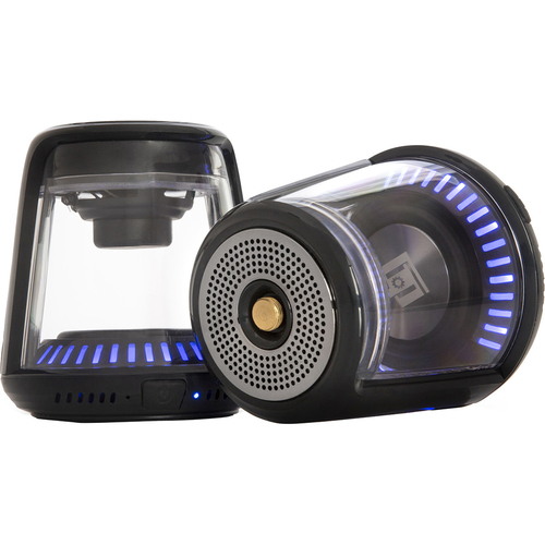Deco Gear True Wireless Bluetooth Speakers - Huge Sound LED Illuminated with Magnetic Base