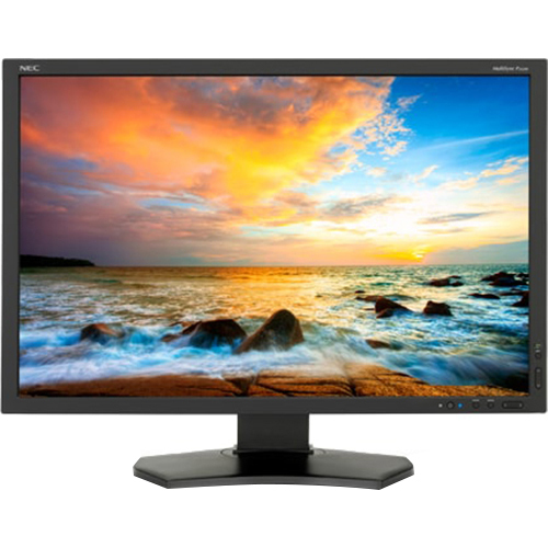 NEC MULTISYNC P242W-BK 24IN LED BACKLIT LCD AH-IPS 1920X1200 W/ AMB - Open Box