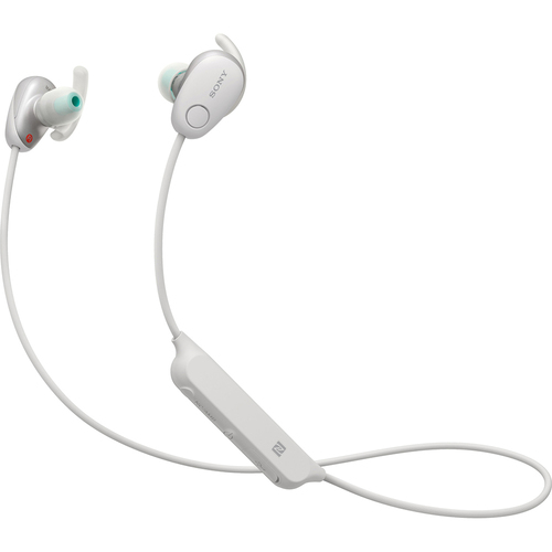 Sony WI-SP600N Wireless In-Ear Sport Headphones w/ Bluetooth - White (WISP600N/W)