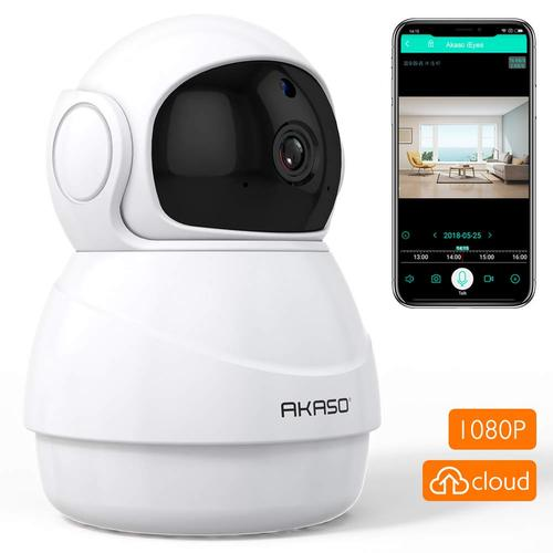 Akaso P20 1080P HD Security Camera with Two-Way Audio, Infrared Night Vision