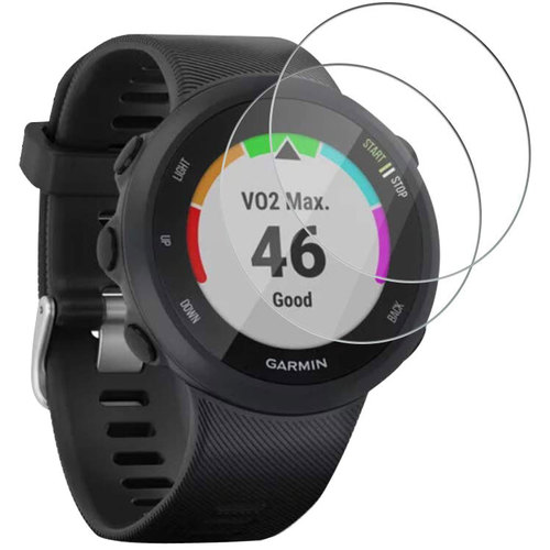 Tempered Glass Screen Protector for Garmin Forerunner 45  - 2-Pack