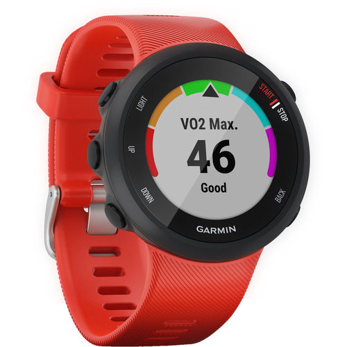 Garmin Forerunner 45 GPS Running Watch (42mm)(Lava Red) - 010-02156-06
