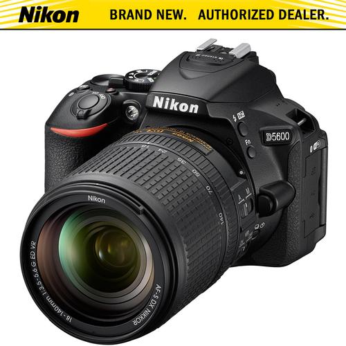 Nikon D5600 w/ 18-140mm f/3.5-5.6G ED VR Lens Kit | BuyDig.com
