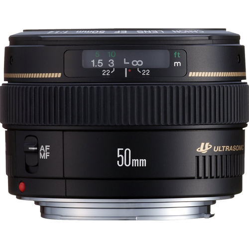 Canon EF 50mm f/1.4 USM Standard & Medium Telephoto Prime Lens for Canon SLR Cameras