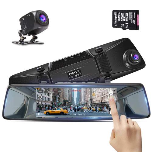 Akaso DL7 Mirror Dash Cam Car Camera,Backup Camera 1080P